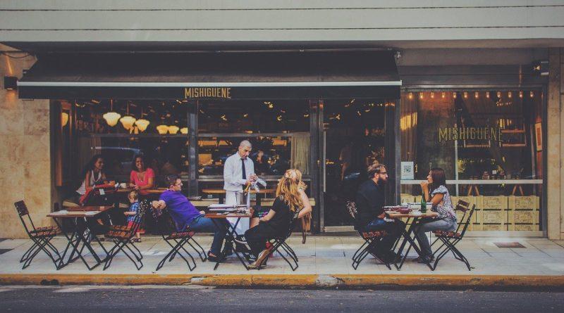 Bar sur la rue