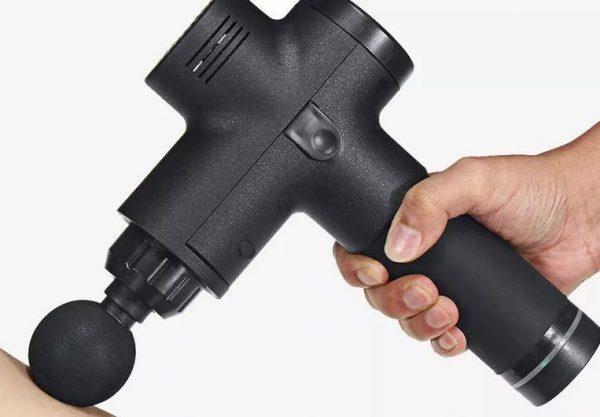 Pistolet de massage noir